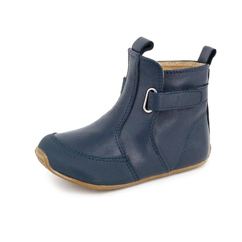Toddler Leather Cambridge Boots Navy-Lilypond Kids