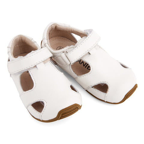 Sunday Sandals White-Lilypond Kids