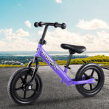 "Kids Balance Bike 12"" Wheels - Purple-Lilypond Kids"
