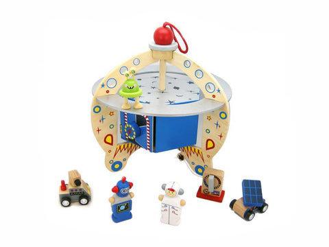 Flying Saucer Playset-Lilypond Kids