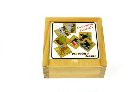 Australian Animal Memory Game-Lilypond Kids