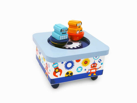 Robot Music Box-Lilypond Kids