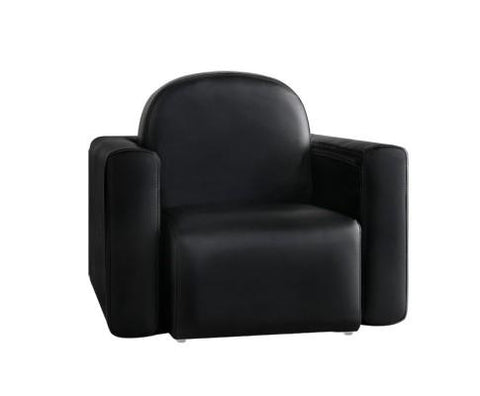 Kids Convertible Armchair - Black-Lilypond Kids