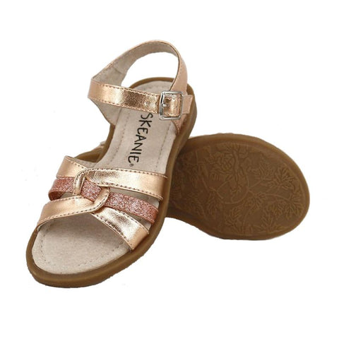 LEXI Kids Sandals in Rose Gold-Lilypond Kids