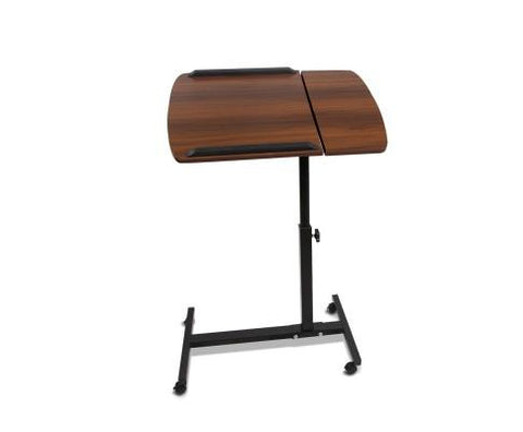 Rotating Mobile Laptop Adjustable Desk Walnut-Lilypond Kids