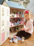 Le Toy Van Daisylane Cherry Tree Hall Doll House-Lilypond Kids