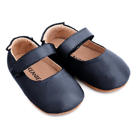 Pre-walker Lady Jane in Navy-Lilypond Kids