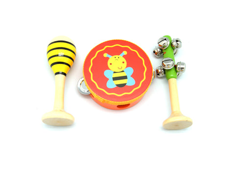 Sm Bee 3pcs Musical Set-Lilypond Kids