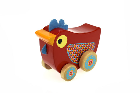 Chicken Wind N Walk Music Box-Lilypond Kids