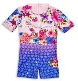 Bluesalt Mermaid Girls Rash Suit - All In One Suit-Lilypond Kids
