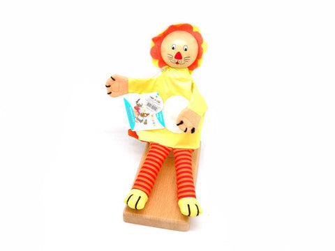 Cowardly Lion Hand Puppet-Lilypond Kids