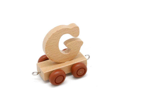 Train Carriage With Letter G-Lilypond Kids