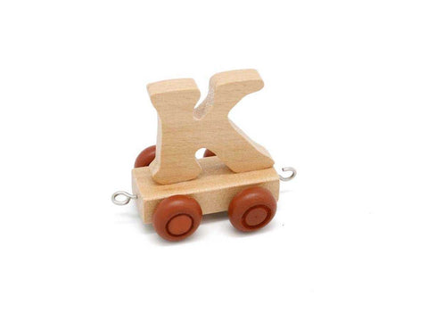 Train Carriage With Letter K-Lilypond Kids