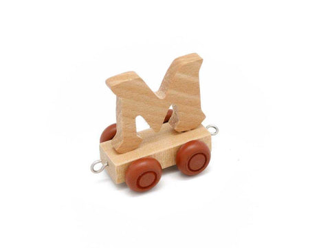 Train Carriage With Letter M-Lilypond Kids