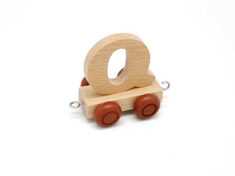 Train Carriage With Letter Q-Lilypond Kids