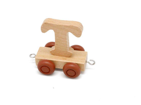 Train Carriage With Letter T-Lilypond Kids