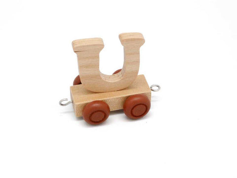 Train Carriage With Letter U-Lilypond Kids