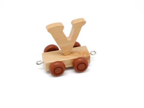 Train Carriage With Letter V-Lilypond Kids