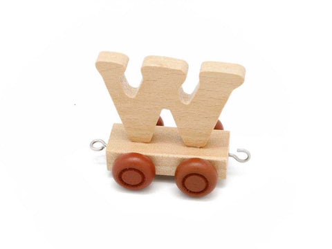 Train Carriage With Letter W-Lilypond Kids