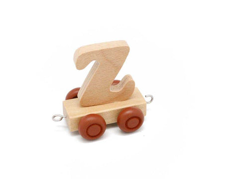 Train Carriage With Letter Z-Lilypond Kids