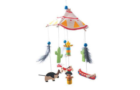 American Indian Themed Mobile-Lilypond Kids