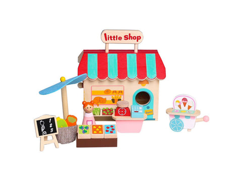 Kaper Kidz Grocery Store With Carry House-Lilypond Kids