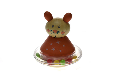 Wooden Animal Roly Poly Rabbit-Lilypond Kids