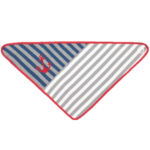 Organic Farm Buddies - Grey Stripe Bandana-Lilypond Kids