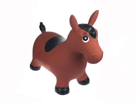 Bouncy Rider Brown Horse-Lilypond Kids