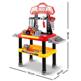 Keezi Kids Workbench Play Set - Red-Lilypond Kids