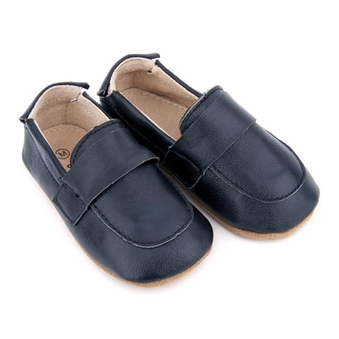 Pre-walker Loafers in Navy-Lilypond Kids