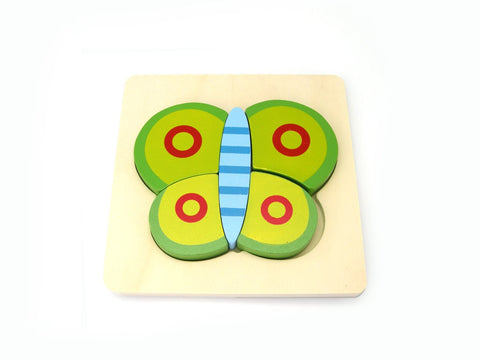 Butterfly Chunky Puzzle-Lilypond Kids
