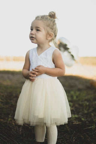 Indie-Rose Tutu – Cream-Lilypond Kids