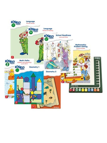 Logico Piccolo - Full Set With Board (7 titles+1 Board)-Lilypond Kids