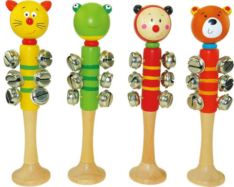 Animal Bell Stick With Base-Lilypond Kids