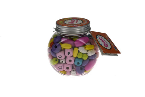 Yum Yum Orange Jazz Berry Alphabet Beads Kit-Lilypond Kids