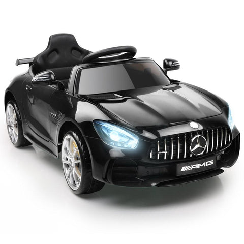 Kid's Ride on Mercedes-AMG GT R – Black-Lilypond Kids