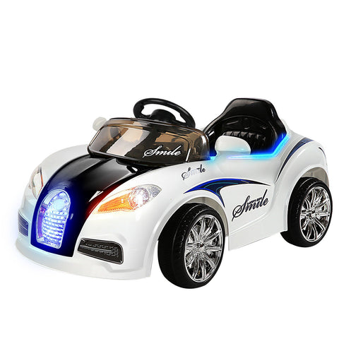 Rigo Kids Ride On Car - Black & White-Lilypond Kids