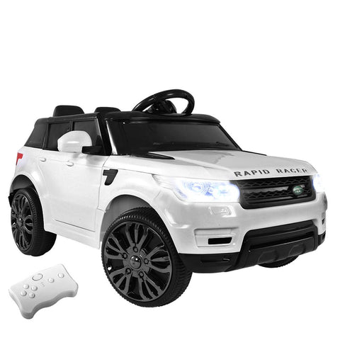Rigo Kids Ride On Car - White-Lilypond Kids