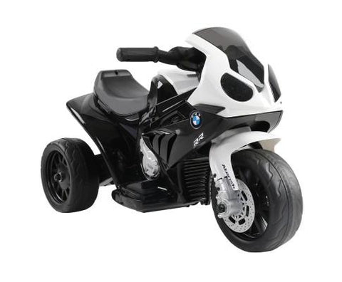 BMW Motorbike Electric Toy - Black-Lilypond Kids