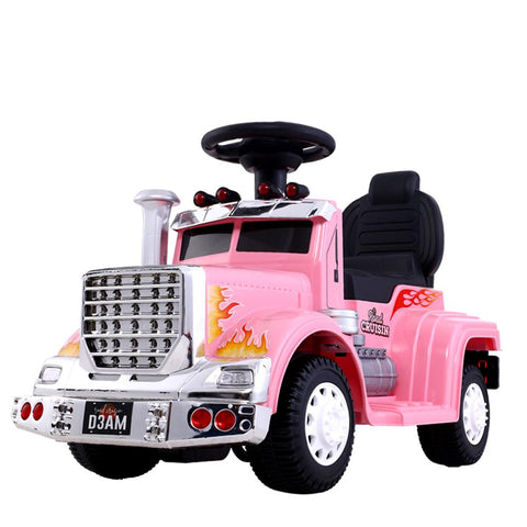 Rigo Ride On Electric Truck - Pink-Lilypond Kids