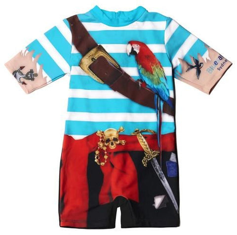 Bluesalt Pirate Rash Suit - All In One Suit-Lilypond Kids