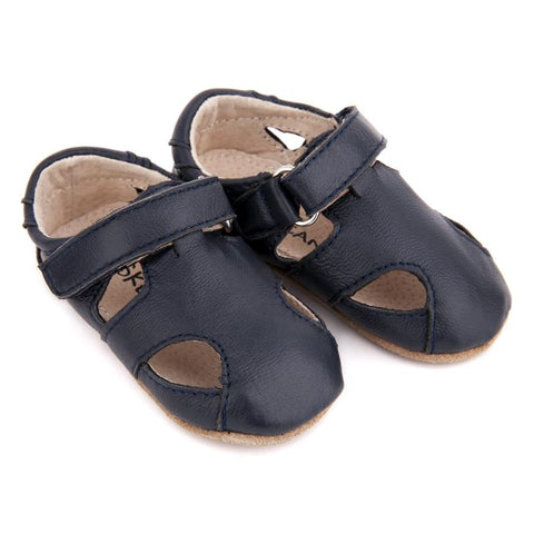 Pre-walker Sunday Sandals Navy-Lilypond Kids