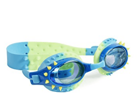 Bling20 Goggles Nelly - Lochness Blue And Yellow Spikes-Lilypond Kids
