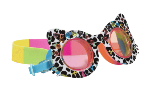 Bling20 Goggles - Midnight Meow Multi-Lilypond Kids
