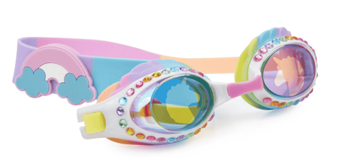 Bling20 Swim Goggles - Eunice The Unicorn - Rainbow Rider-Lilypond Kids