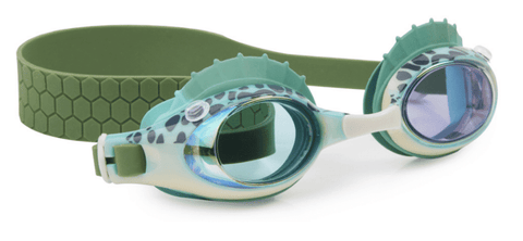 Bling20 Swim Goggles Bass Fish - Green Gills-Lilypond Kids