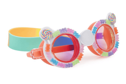 Bling20 Swim Goggles Sugar Rush Gummy Bear - Rainbow Rock-Lilypond Kids