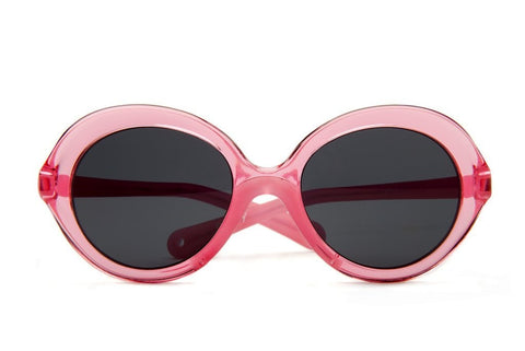 Silver Lake Pink Crystal Paxley Sunglasses for Kids-Lilypond Kids