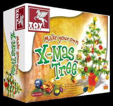 Make Your Own Christmas Tree-Lilypond Kids
